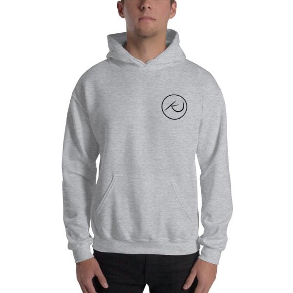 Kaleb Justice Brand Grey Hoodie