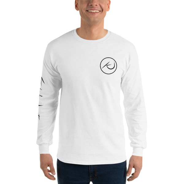 Kaleb Justice Brand White Long Sleeve T-Shirt