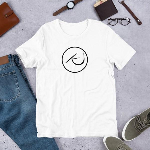 KJ Design White T-Shirt Product Mockup