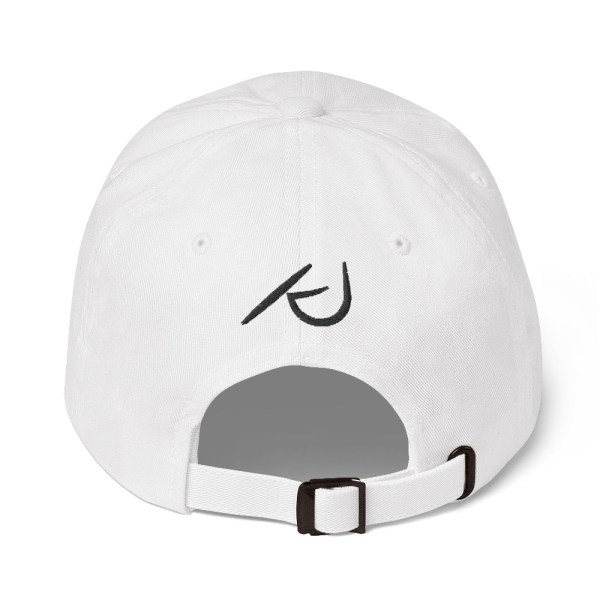 KJ Design White Hat Back