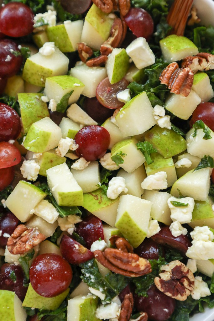Naturally gluten free and healthier for you too! This delicious side salad is just the thing you need to combat all those heavier fall and winter dishes this year!