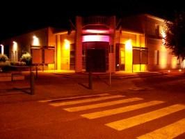 Mairie de Champforgeuil aux couleurs d'Octobre Rose