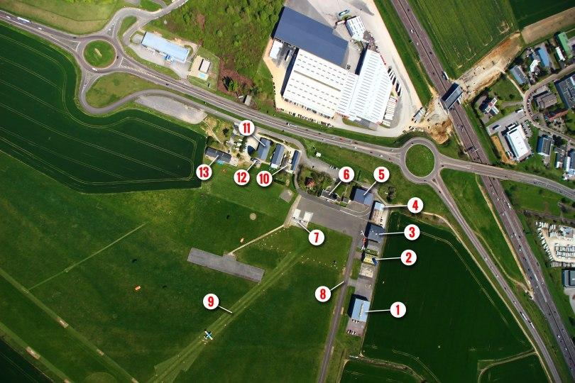 Plan aerodrome