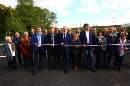 Inauguration du parking Relais de St Remy