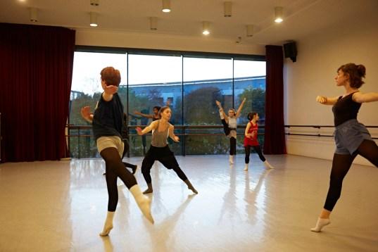 Danseuses du jeune ballet du Conservatoire du Grand Chalon