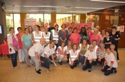 Photographie de l'équipe William Morey pour la lutte contre le cancer du sein