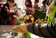 Potage onctueux servis lors du festival des soupes de Chalon -sur-Saône