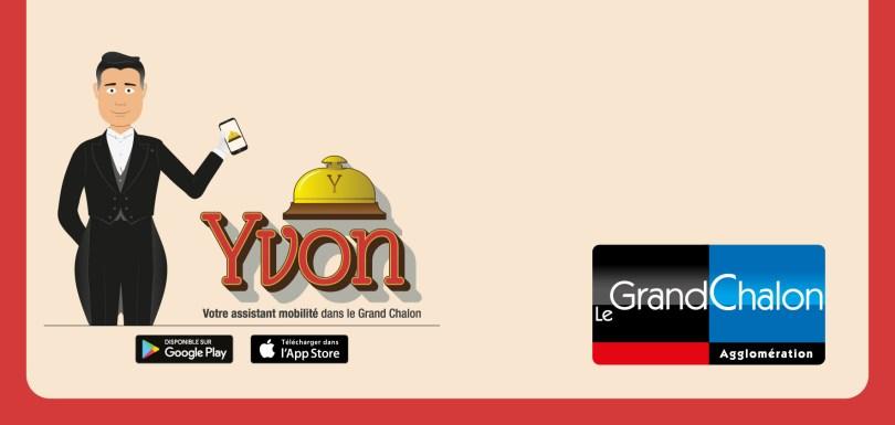Yvon est une application développée par le grand Chalon