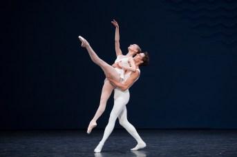 Germain Louvet et une danseuse pour en Sol