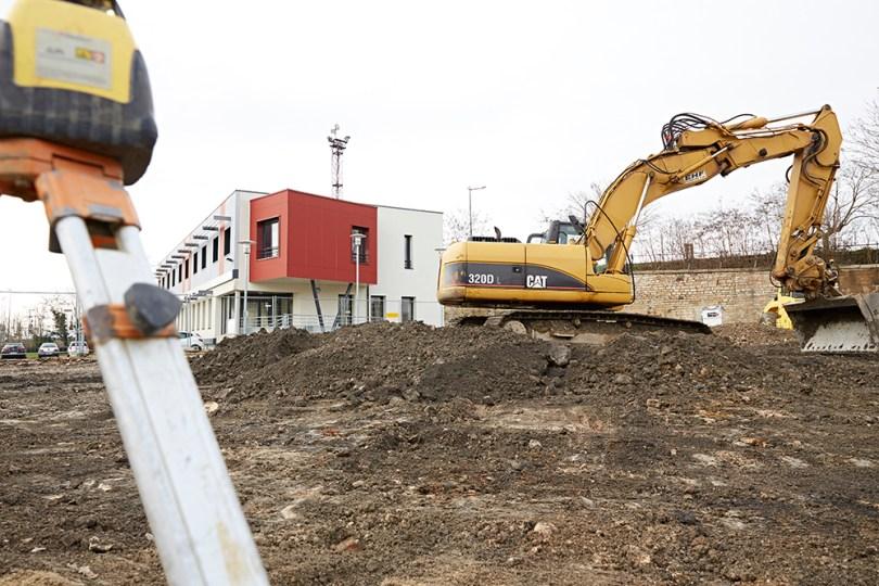 Début des travaux pour l'AMEC avec la construction d'un foyer handicap