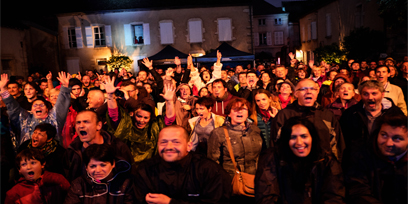 Les événements regroupe beaucoup de gens à Chalon sur Saône