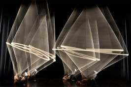 Le spectacle Magnetic à l'espace des arts de Chalon sur Saône