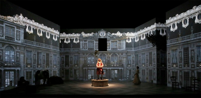 Le spectacle George Dandin à l'espace des arts de Chalon sur Saône