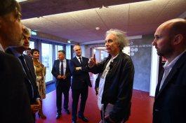 Visite privée avec les architectes Pierre Hebbelink et Mathieu Berteloot