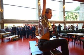 Tatiana Jullien Artiste associée fait entrer l'art dans le Nouvel Espace Des Arts inauguré