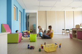 salle d'éveil à l'espace petite enfance le lac à chalon-sur-saône