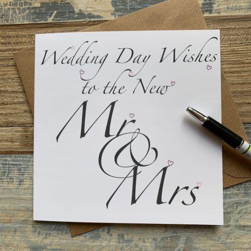 Wedding Day Wishes Card