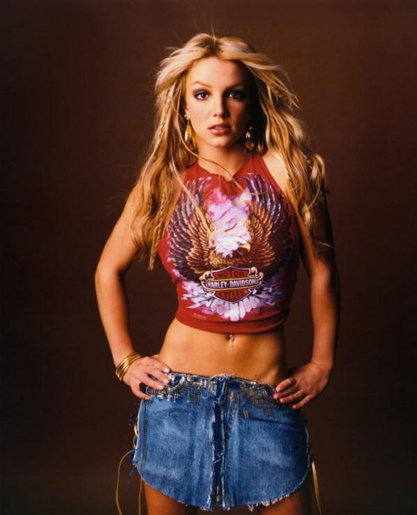 Бритни Спирс(Britney Spears) в фотосессии Эндрю Экклса ...
