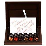 Halligers Gewürzkalender Adventskalender Gewürze ADVENT Selektion 24 mit Grußkarte | Set/Mix | 24x Miniglas in Deluxe-Box | 500g