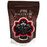 Hallingers Kaffee Weihnachten No. X-mas - gemahlen als Espresso Aromabeutel, 1er Pack (1 x 500 g)