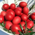 czerwone jajka