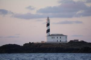 Menorca, Ankunft bei Sonnenaufgang