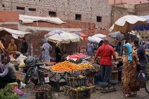 Marrakesh, Gemüsemarkt