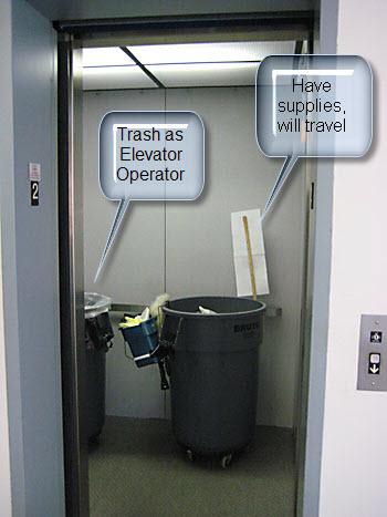 Trashy!