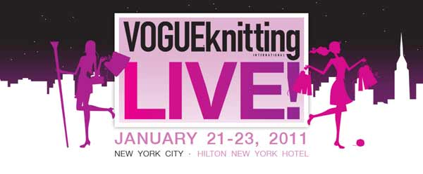 Vogue Knitting Live Conference Report - Part 1 (1/6)