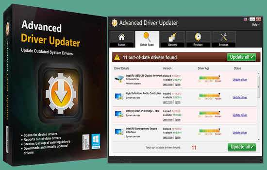 Advanced Driver Updater 4.8 Key + File With Crack Download [2021]