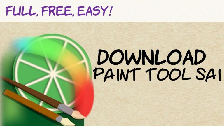 Paint Tool Sai (1.2.5) Crack Latest Software Free Download For Window And Mac