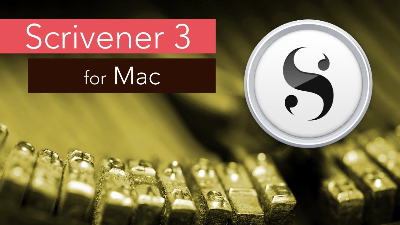 Scrivener 3 رائع
