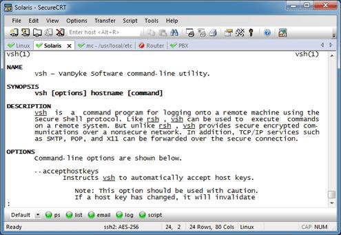 SecureCRT 8.3.1