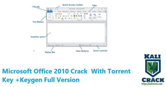 Microsoft Office 2010 Crack With Torrent Key +Keygen Full Version