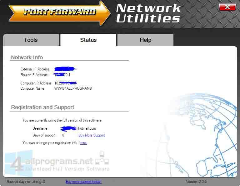 PortForward Network Utilities