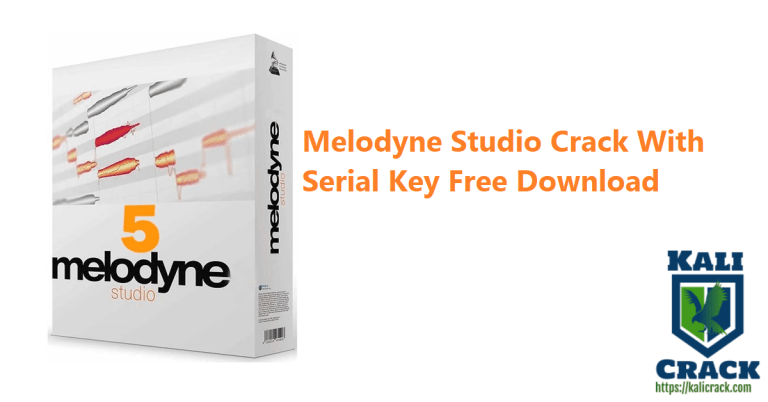 Melodyne 5.3.4 Studio Crack With Serial Key Free Download