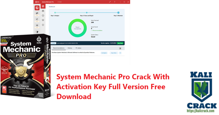 System Mechanic Pro 21.0.0.14 Crack With Activation Key Download [2021]