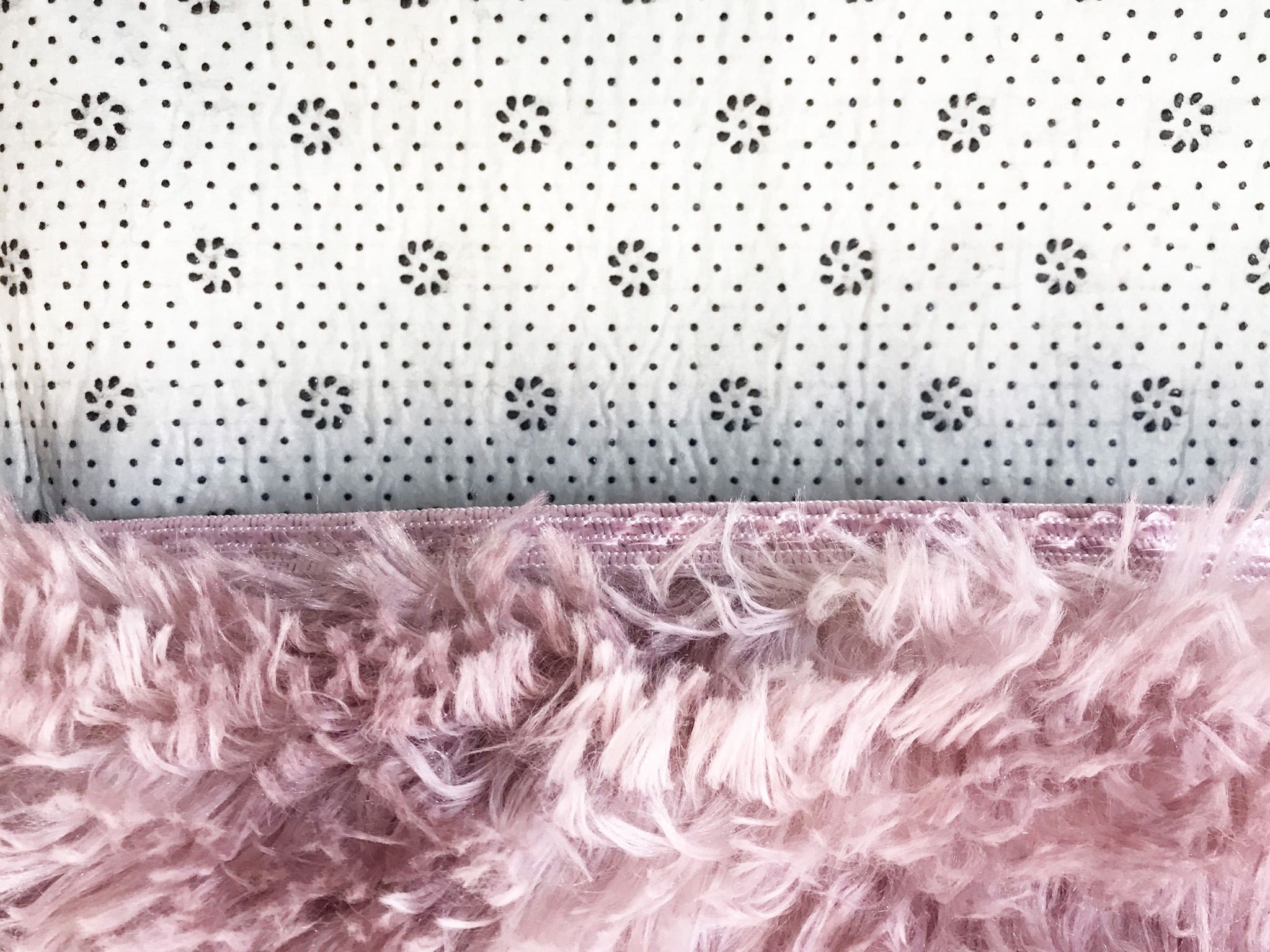 kaliga bazaar rug for bedroom ultra soft fluffy carpets for kids nursery teens room girls boys thick accent rugs 4 ft x 6 ft pink
