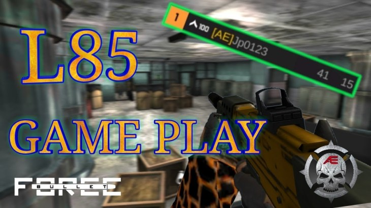[Bullet Force] L85 GAME PLAY [バレットフォース] − アフィリエイト動画まとめ