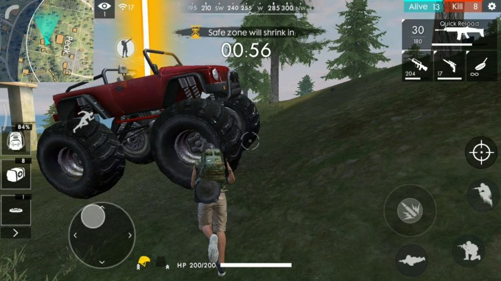 Free-fire-Game-play
