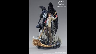 Oniri Creations Death Note diorama Light Yagami and Ryukstatue unboxing and review − アフィリエイト動画まとめ
