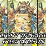 Granblue Fantasy: Light Magna Damage Comparison【グラブル】光マグナ編成 ダメージ比較 − アフィリエイト動画まとめ