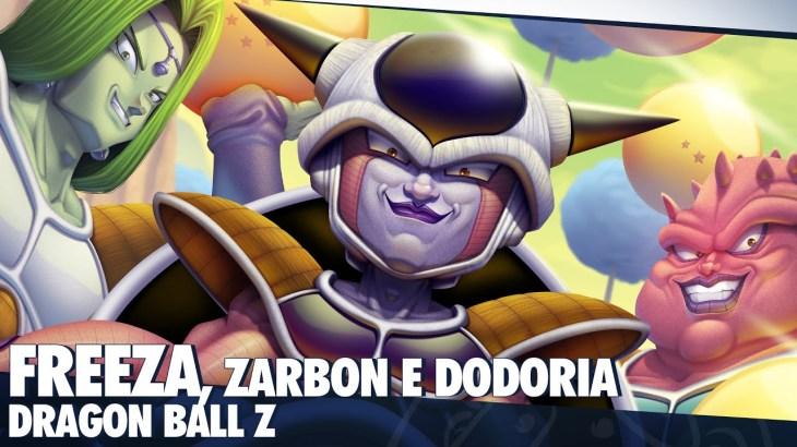 Freeza, Zarbon e Dodoria (Dragon Ball Z): como eu tenho me DESAFIADO a cada desenho | Speed Painting – アフィリエイト動画まとめ