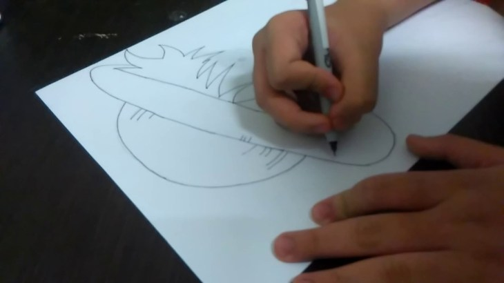 How to draw Monkey D. Luffy from One Piece (highlight &detail) – アフィリエイト動画まとめ