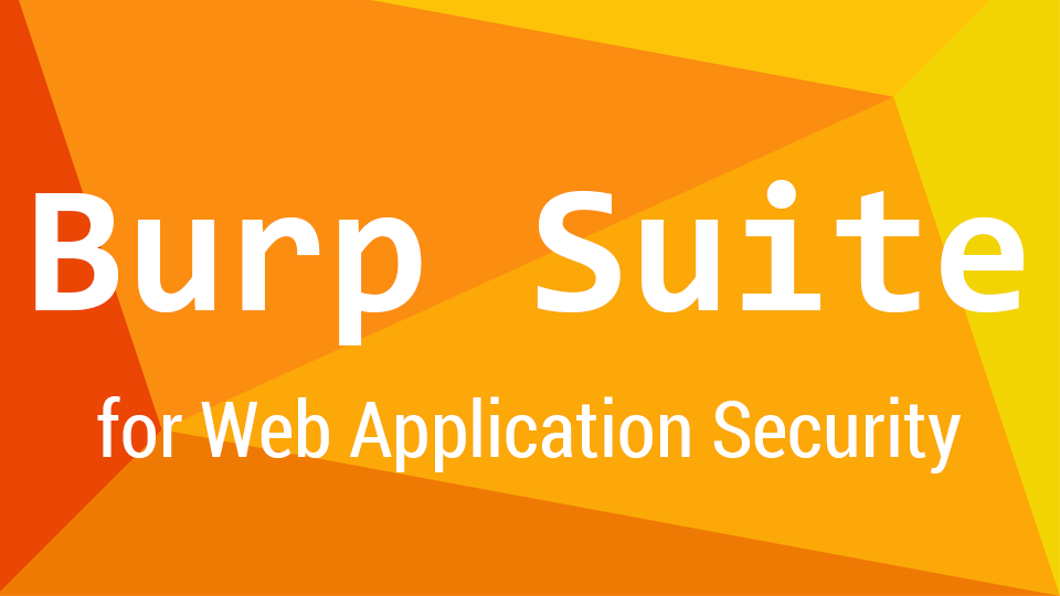 Burpsuite - A Beginner For Web Application Security or