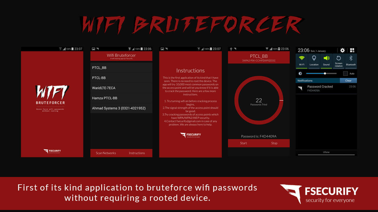 Brute force password cracker download for android