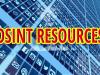 OSINT Resources