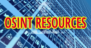 OSINT Resources