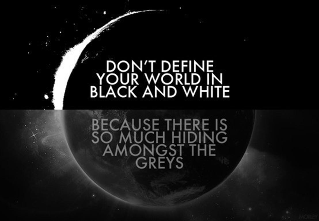 grey Άσπρο μαύρο
