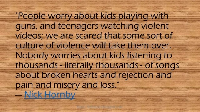 People worry about kids playing with guns